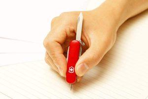 Midnite Minichamp bolígrafo escribiendo