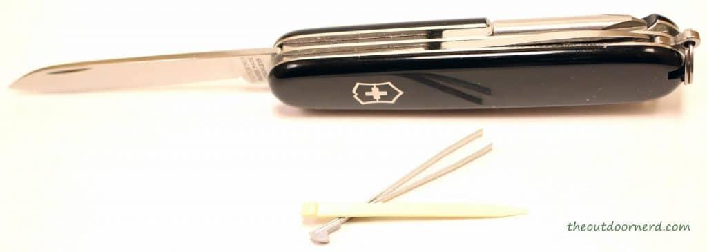 Victorinox TINKER  Review, navaja abierta con pinzas y palillo